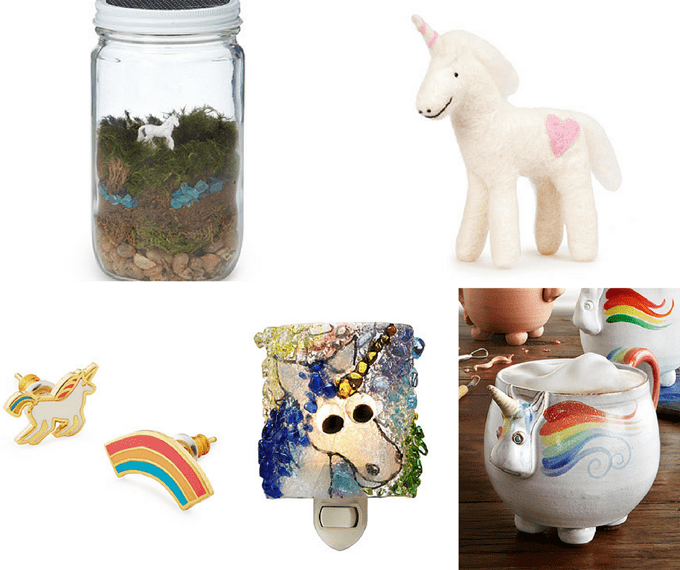 Uncommon Goods ultimate holiday gift guide - unicorn lover gifts