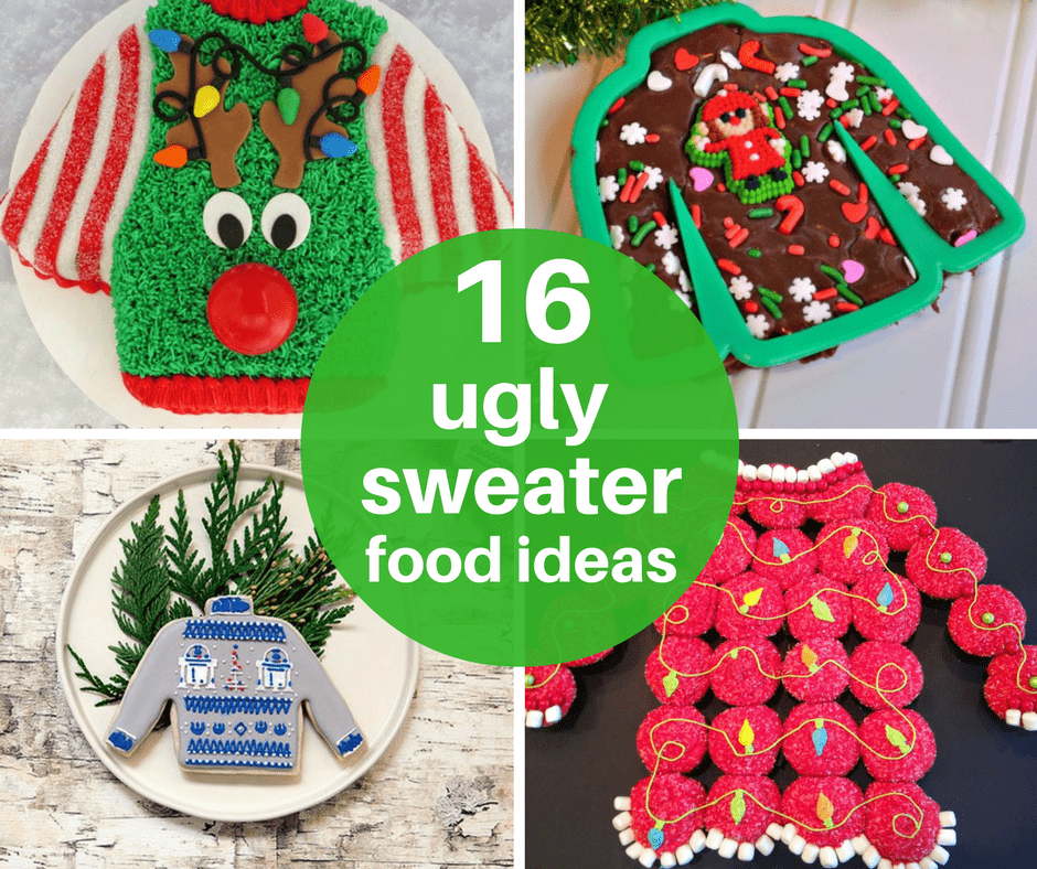 16 ugly sweater food ideas for your ugly sweater Christmas party