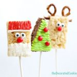 Christmas Rice Krispie Treats 3 Ways