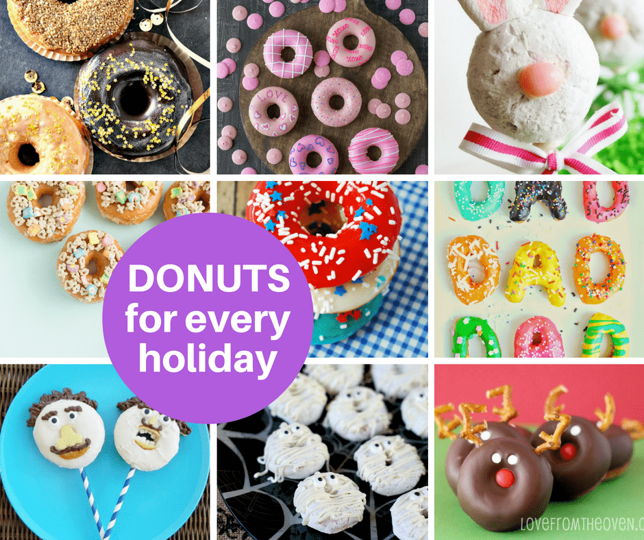 doughnuts for every holiday of the year roundup