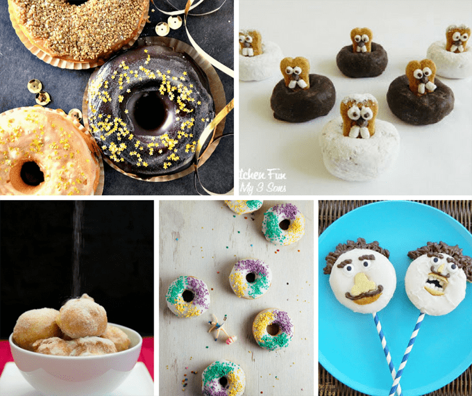 doughnuts for every holiday of the year - a roundup