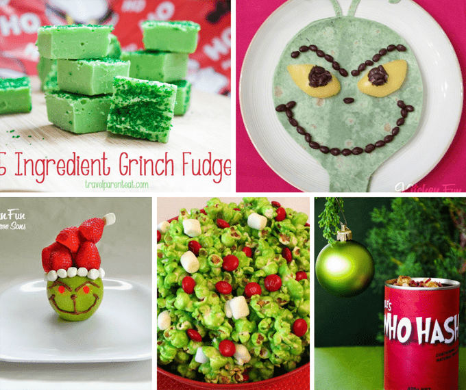 25 Grinch food ideas for Christmas