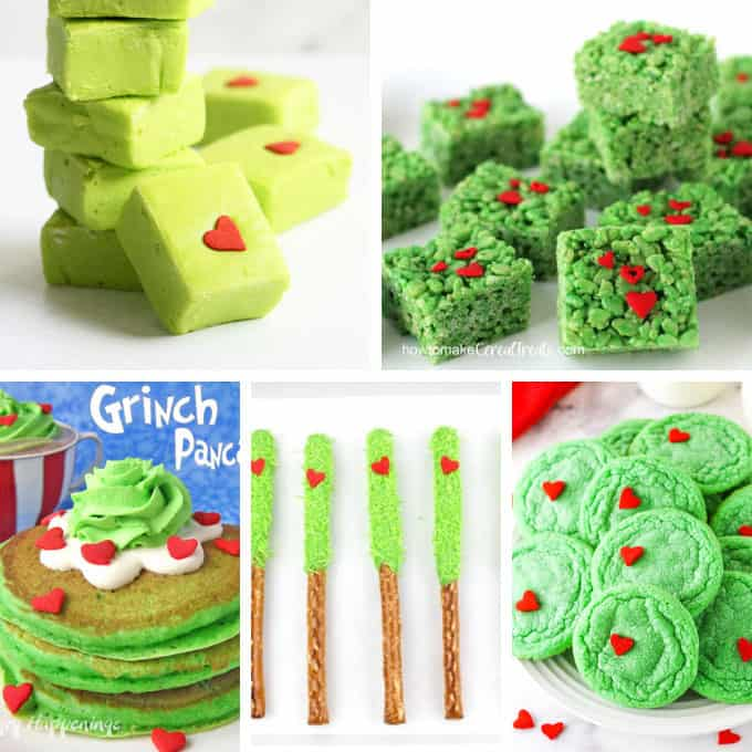 grinch food ideas