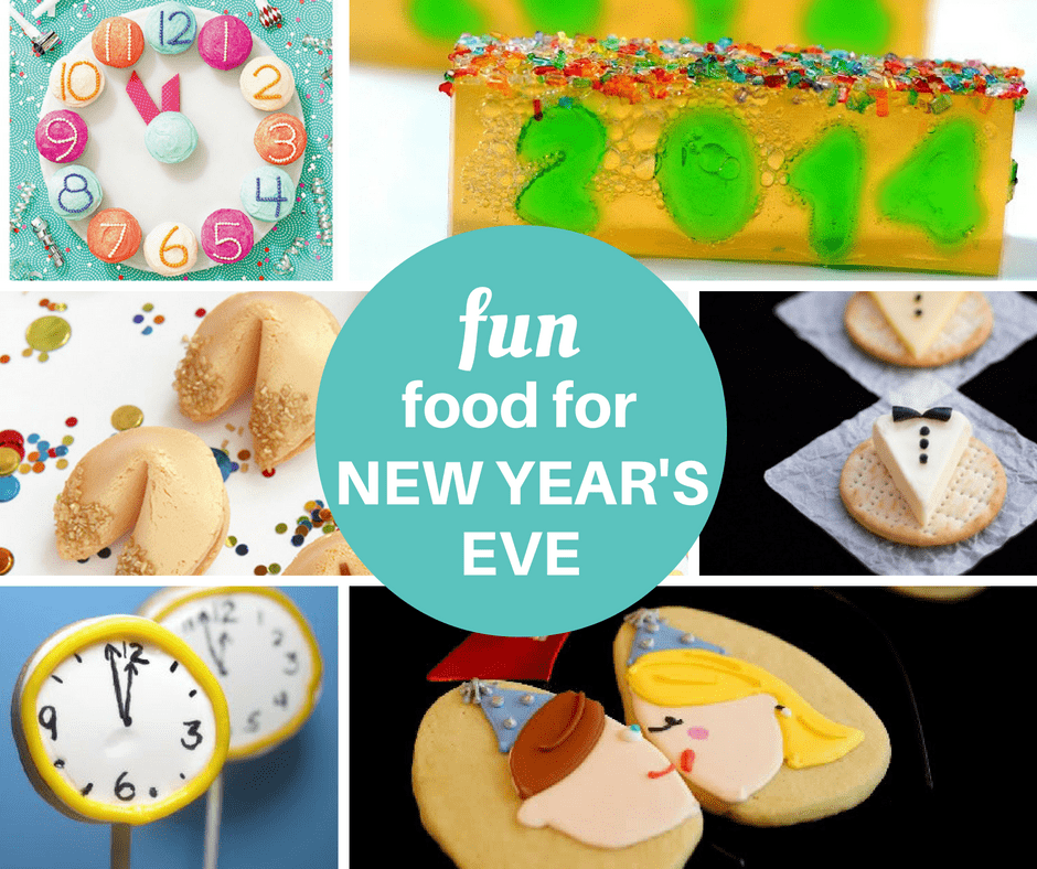 30 fun food ideas for New Year's Eve