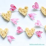 super easy cupid's arrow Rice Krispie Treats for Valentine's Day