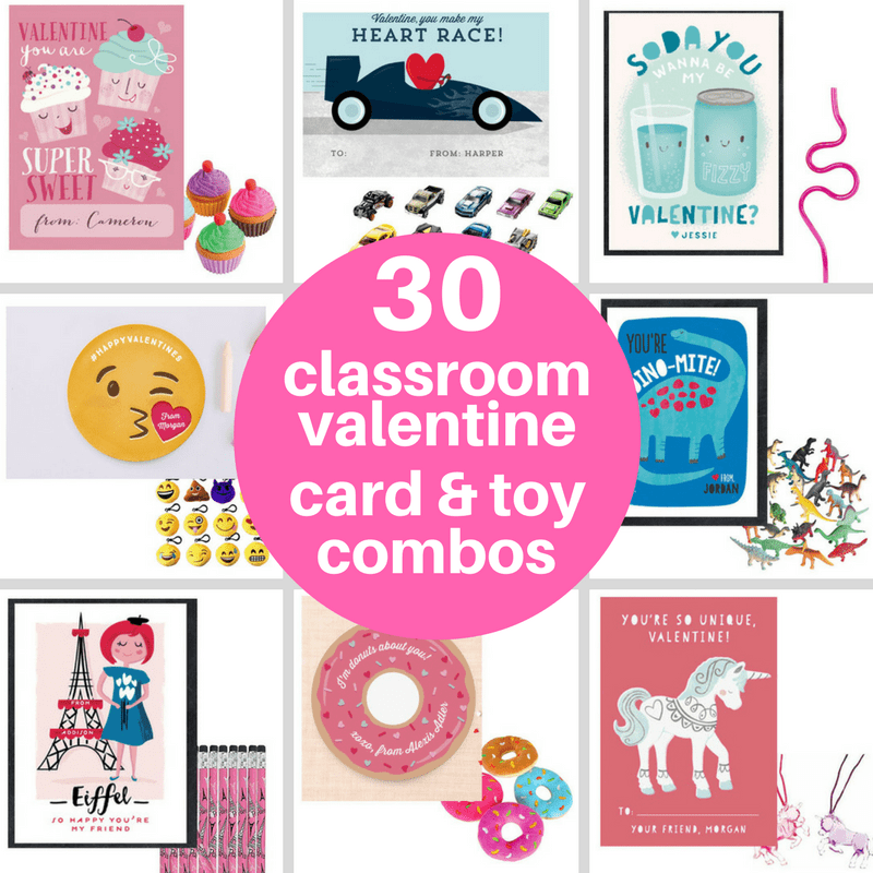 the 30 best Valentine's Day classroom cards and toys