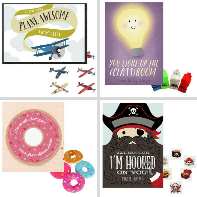 The BEST Valentine's day classroom cards and toys.