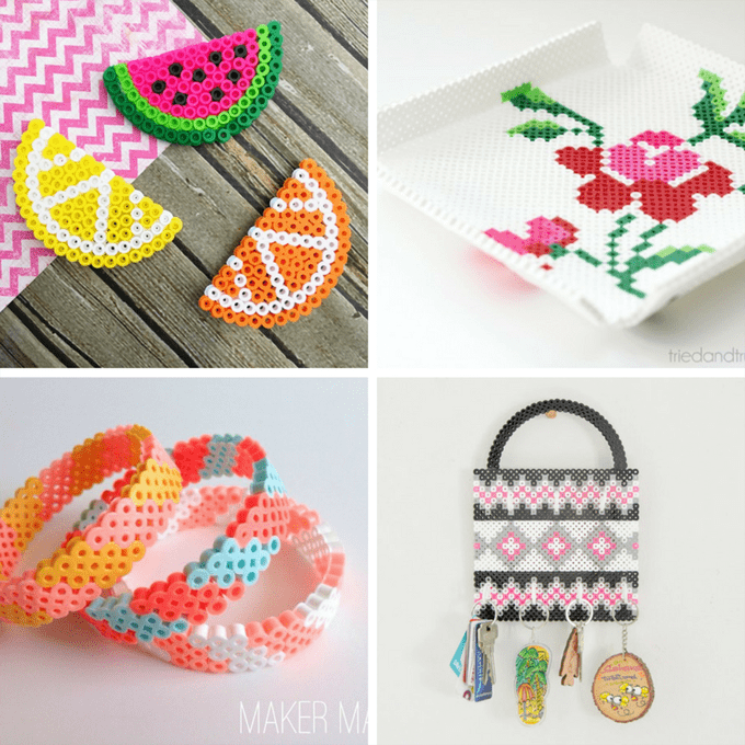 A roundup of 30 amazing perler bead ideas, crafts, home