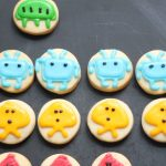 SPACE INVADERS cookies -- 1980s video games, Atari