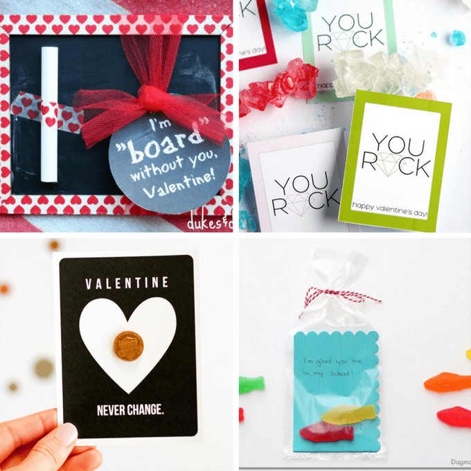 ULTIMATE roundup of classroom VALENTINES! Valentine's Day cards for kids for school parties -- most candy-free -- LINKS to supplies