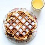 "cinnamon roll ""waffles"""