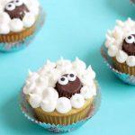 EASY lamb cupcakes
