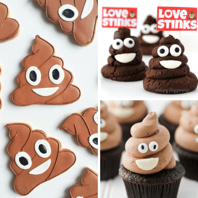 12 poop emoji food ideas
