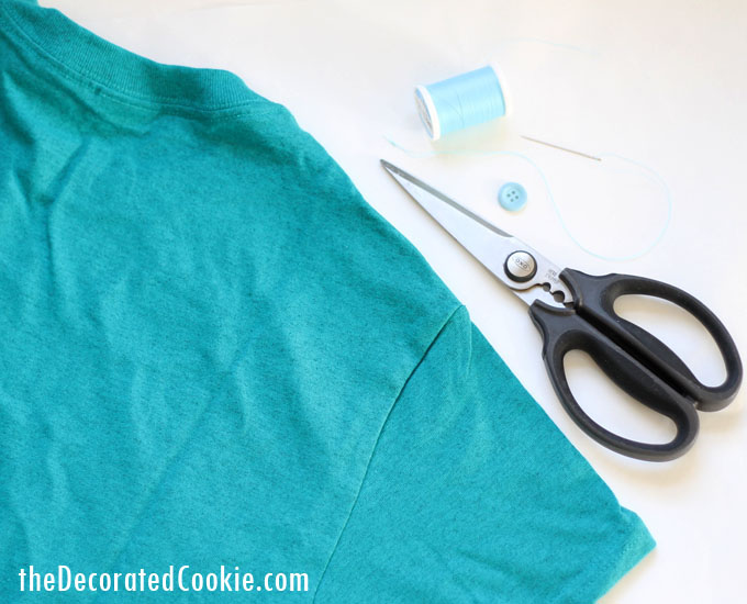 EASY T-shirt ring craft -- DIY jewelry