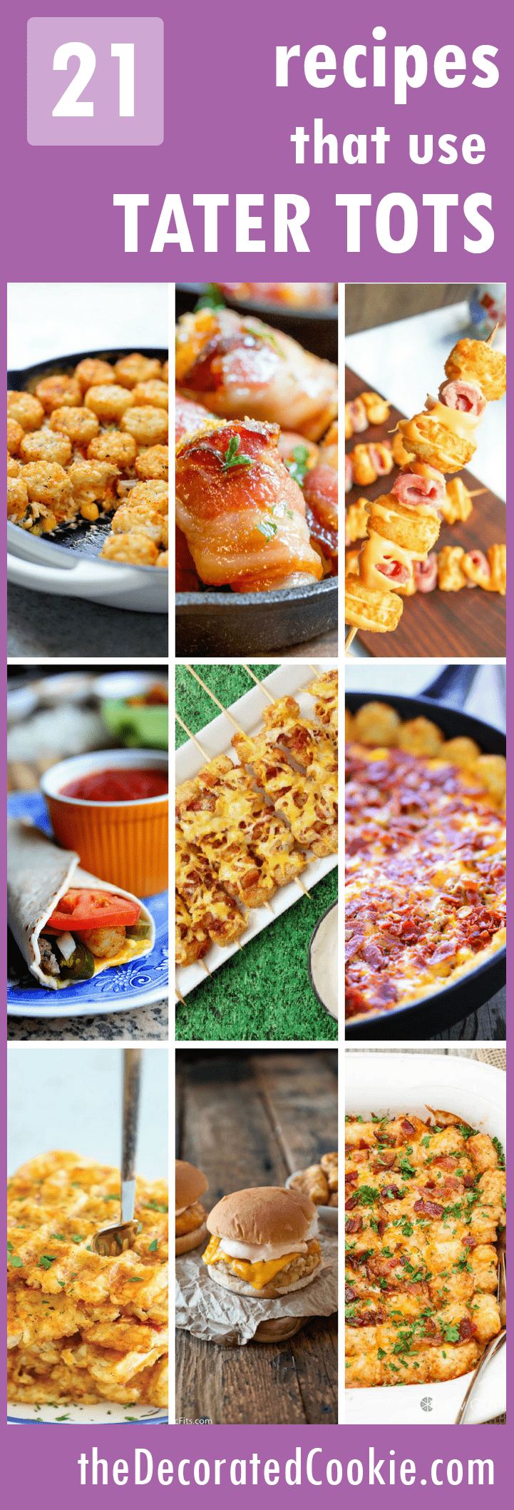 21 recipes that use tater tots
