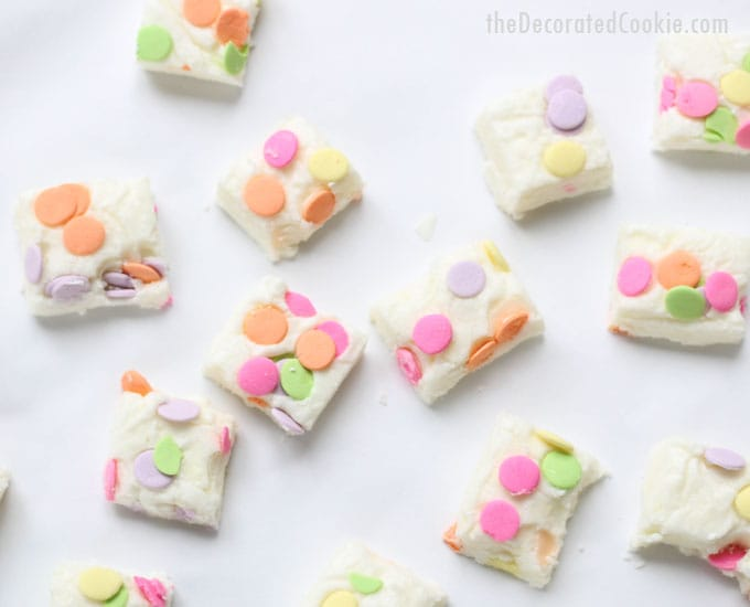 drunk Peeps boozy fudge -- vodka fudge for Easter