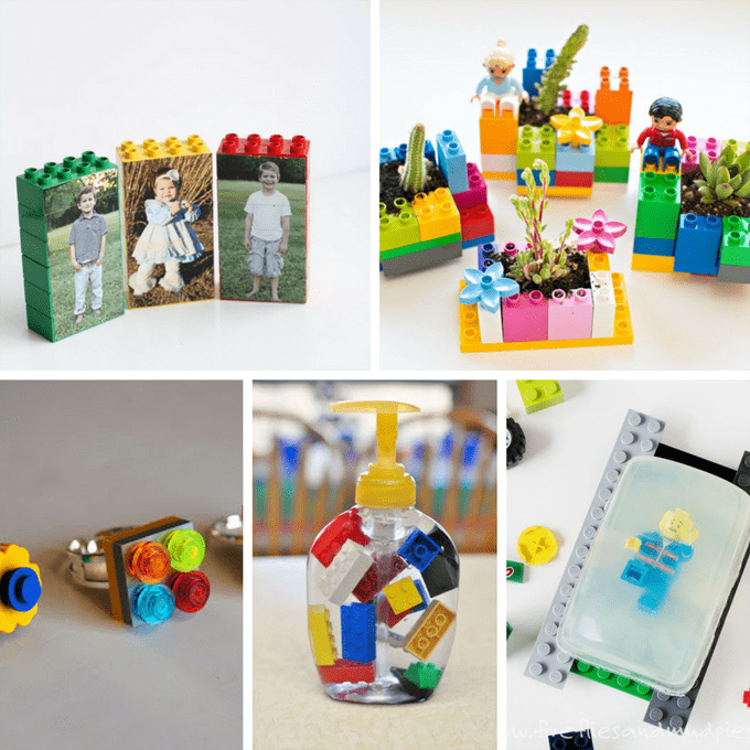 25 awesome LEGO crafts -- upcycled legos