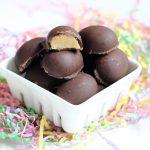 homemade chocolate peanut butter eggs -- copycat Reese's peanut butter eggs