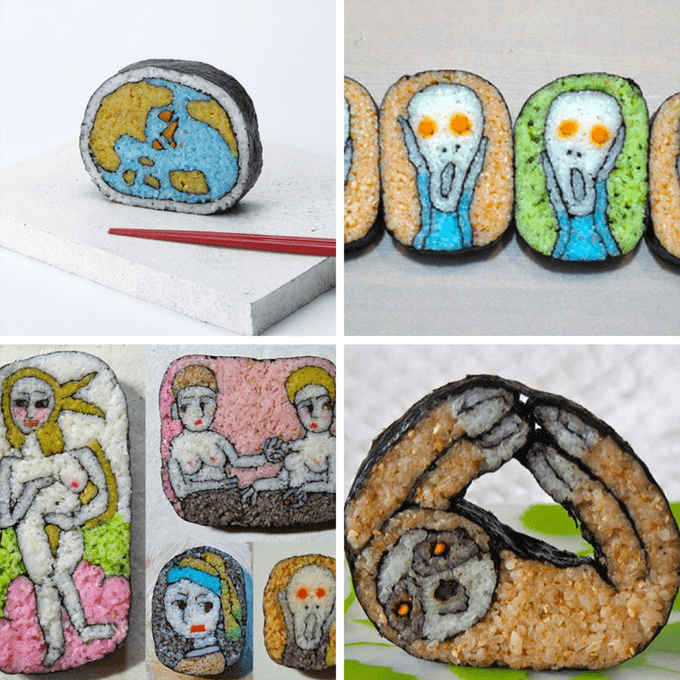 cute sushi art ideas roundup
