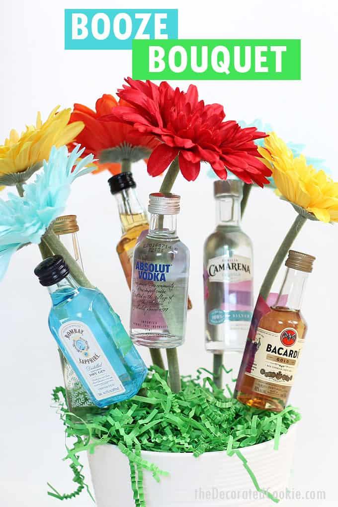 booze bouquet