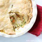 rotisserie chicken meal: easy chicken pot pie