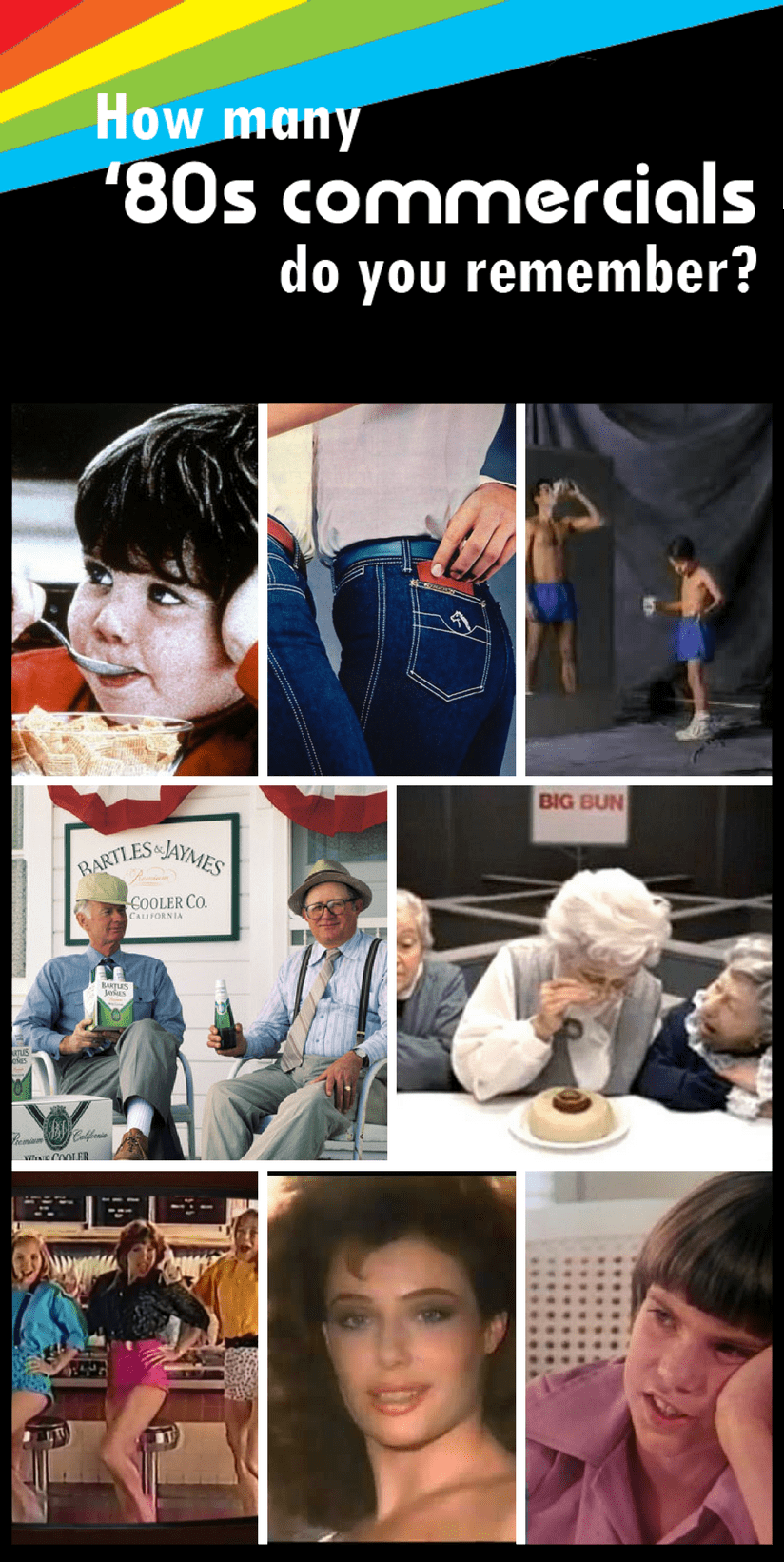 famous commercials from the 1980s
