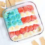 American flag s'mores dip
