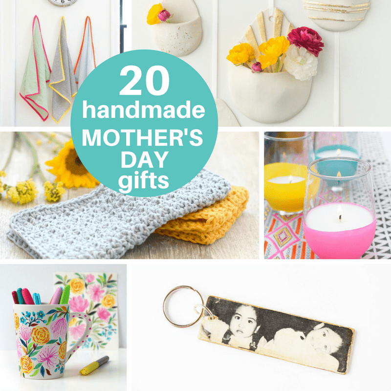 A Roundup Of 20 Homemade Mother's Day Gift Ideas From Adults