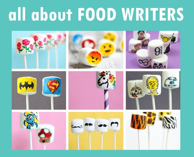 basic cookie decorating : how to use food writers