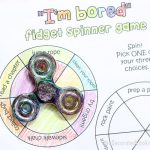 fidget spinner game free printables