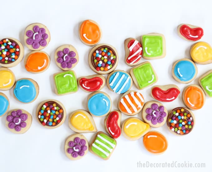 how to decorate candy crush cookies -- video game -- video how-tos