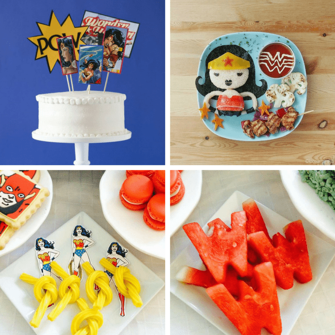Wonder Woman Food Ideas For Your Superhero Party A Roundup