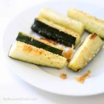 EASY baked Parmesan zucchini sticks -- vegetable side dish idea