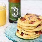 beer and bacon pancakes -- delicious, unusual breakfast idea