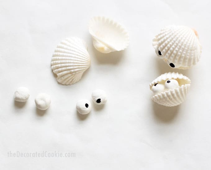 how to make sea shell creatures -- beach crafts -- summer -- sea animals