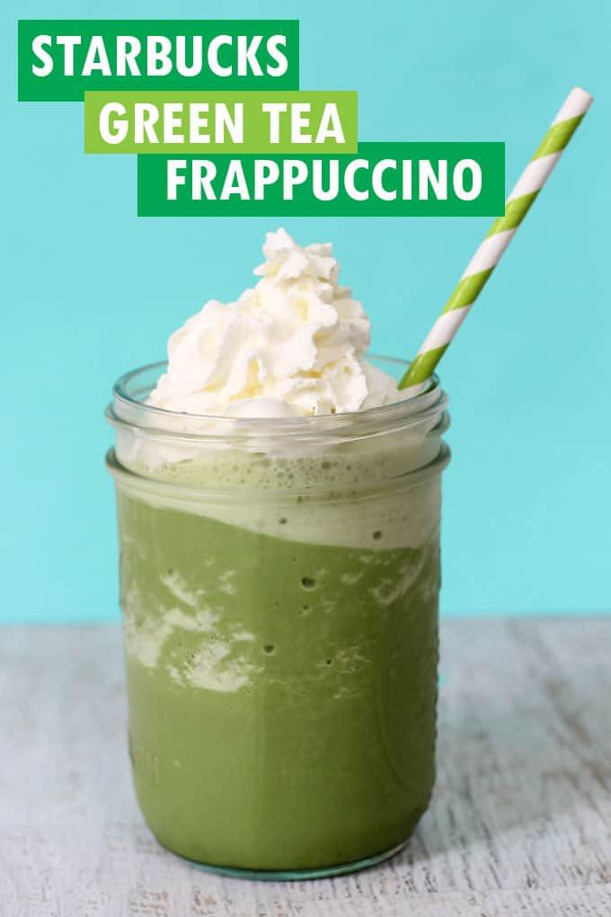 green tea frappuccino Starbucks-style