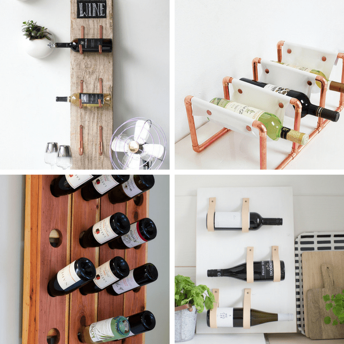 Wine Rack Roundup Of 24 Awesome Diy Wine Racks Home Decor Ideas