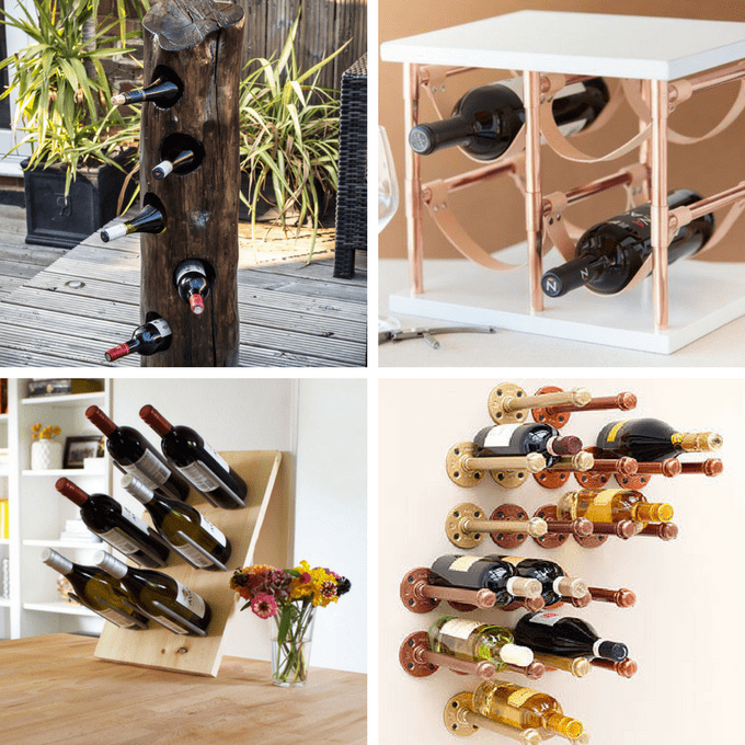 Wine rack roundup of 24 awesome diy wine racks home decor ideas roundup of 24 awesome diy wine racks you can make home decor solutioingenieria Image collections