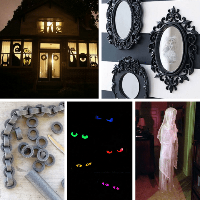 DIY Haunted House Ideas Roundup -- Ideas To Host Your Own