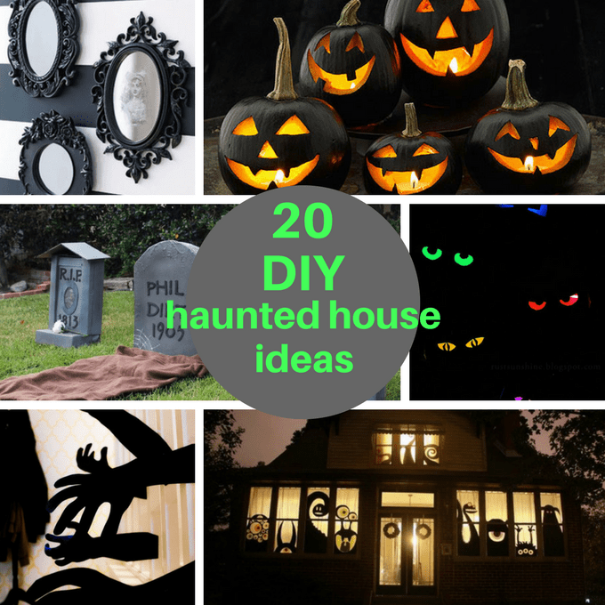 diy haunted house ideas roundup ideas to host your own. Black Bedroom Furniture Sets. Home Design Ideas