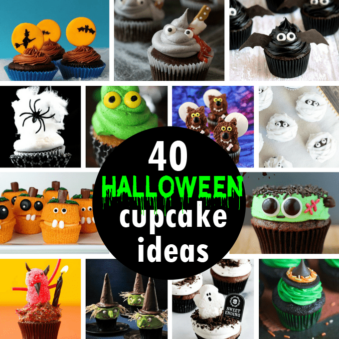 40 Halloween cupcake ideas - a roundup of fun food for your ...