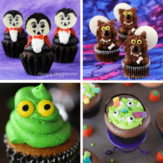 unique halloween cupcakes