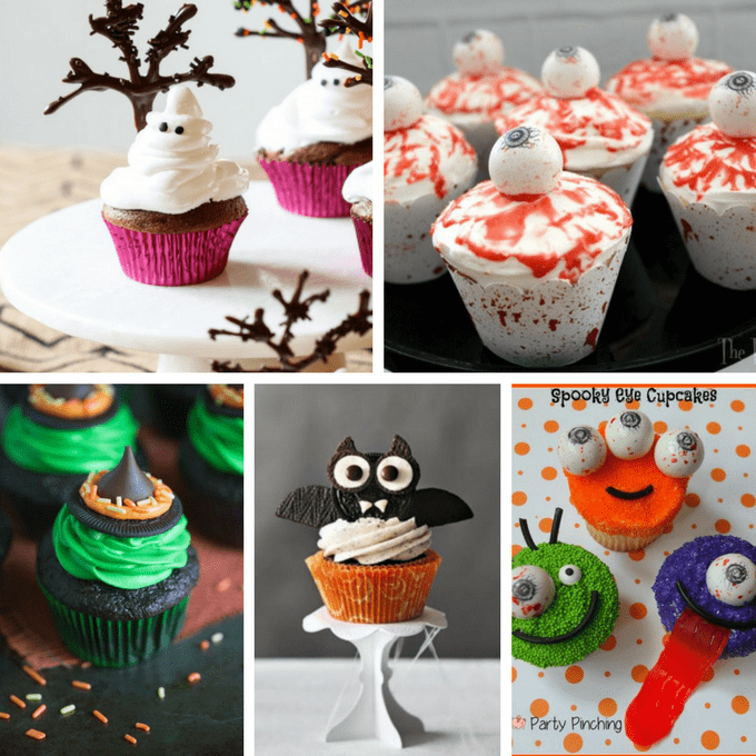 40 halloween cupcake ideas a roundup of fun food for for How to make halloween cupcakes from scratch