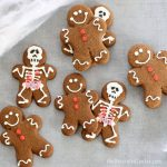 Halloween gingerbread man anatomy