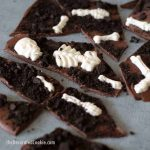 graveyard chocolate bark