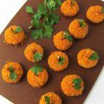 Halloween pumpkins appetizer