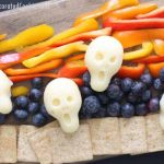 The Scream cheese appetizer -- fun party appetizer for Halloween