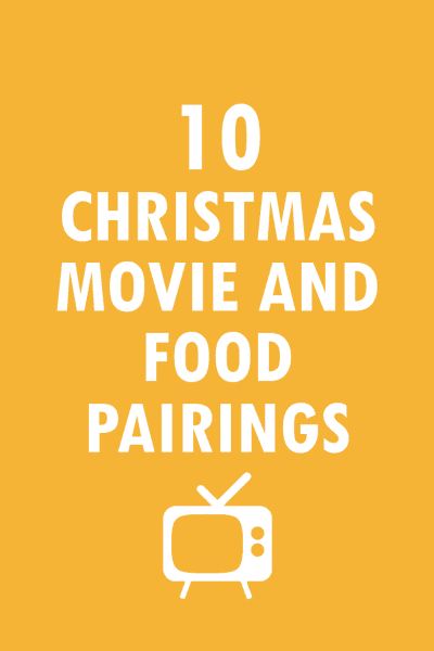 10 Christmas movie fun food pairings