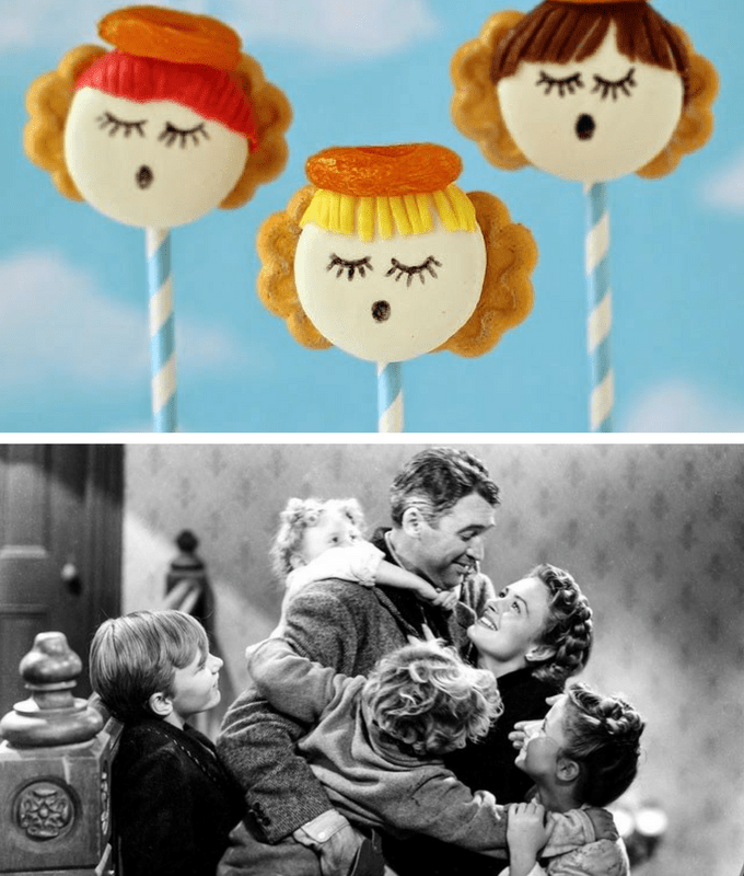 Christmas movies and TV shows fun food pairings -- It's a Wonderful Life