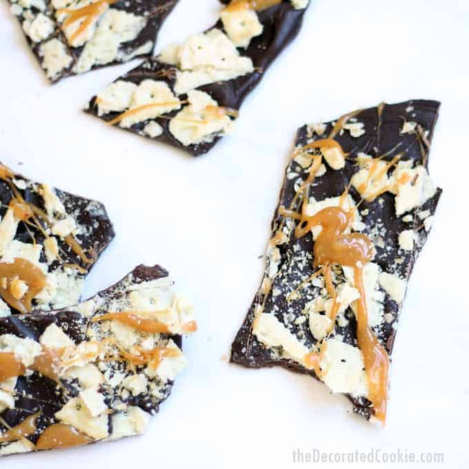 Christmas crack bark